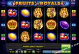 slot igre besplatno Fruits and Royals Novomatic