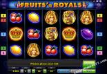 slot igre besplatno Fruits and Royals Novoline